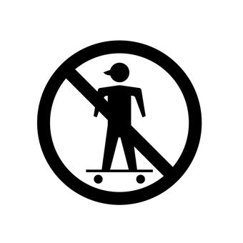 Skateboard prohibition