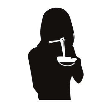 먹는 여자