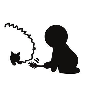 고양이와 놀기