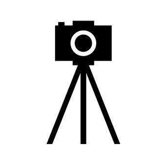 Caméra trépied