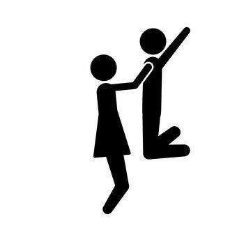 電梯在一個人的懷裡