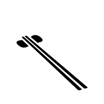 Chopsticks and chopstick rests
