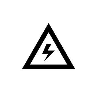 High voltage Caution