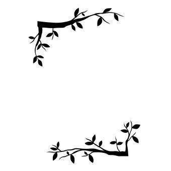 Branch frame