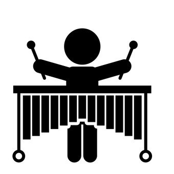 Marimba player