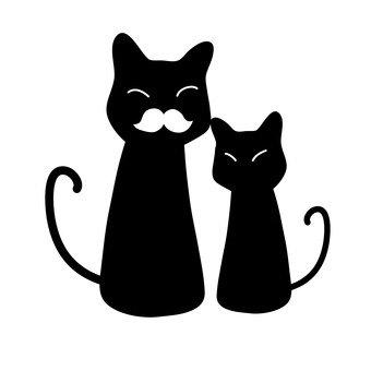 고양이의 친자