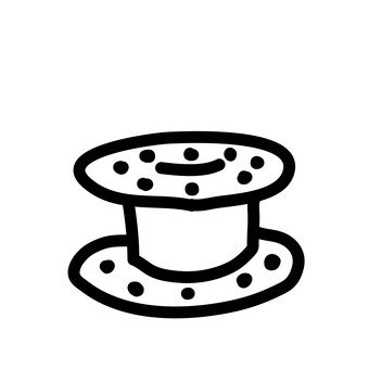 Eine Spule