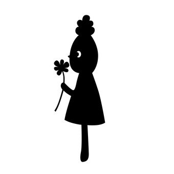 Une fille