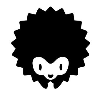 Hedgehog (Black)