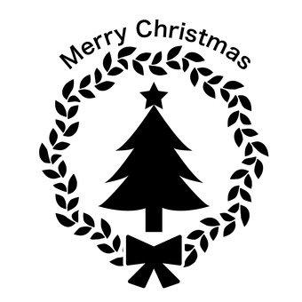 크리스마스 라벨