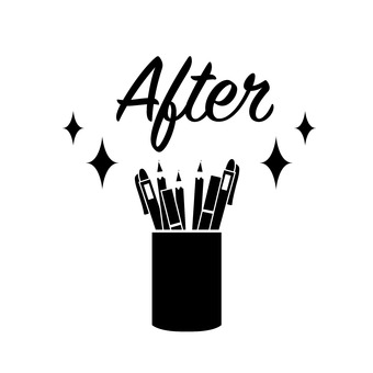 After leaving