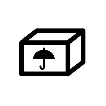 紙板傘標誌