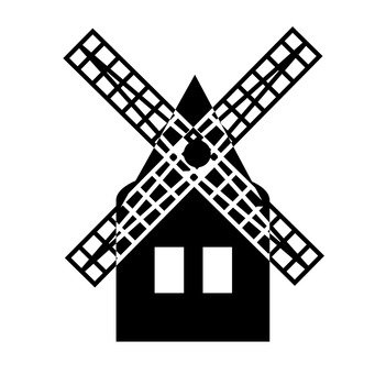 Windmill hut
