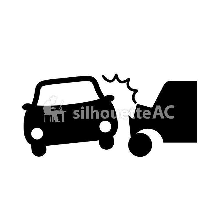 Free Silhouettes : accident - 138037 | silhouetteAC