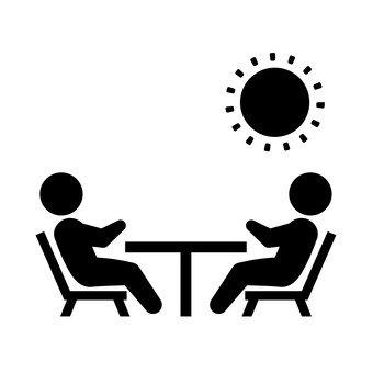 대화하는 두 사람