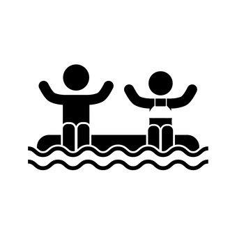 물놀이를하는 아이들