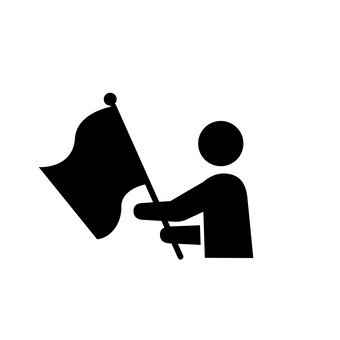Flag player
