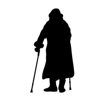 As pessoas mais velhas