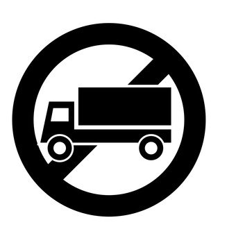 Truck parking prohibited