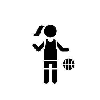 Women's basketball player