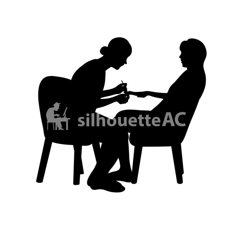 Free Silhouette Vector : nail, 2 people, A catch - 160529 | silhouetteAC