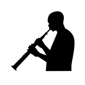 Clarinet player