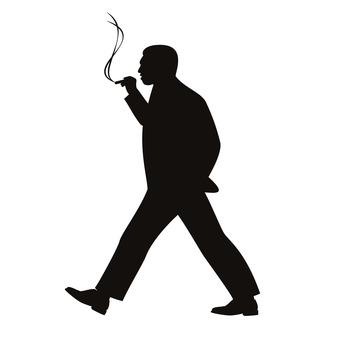 걸음 담배