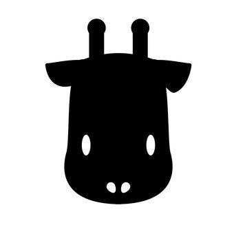 Giraffe (black)