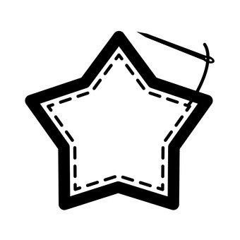 별 모양의 천