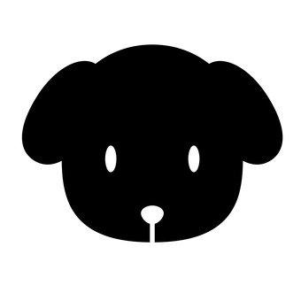 كلب (أسود)