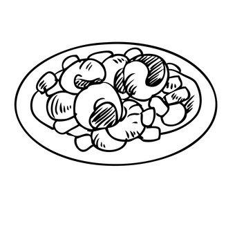 Ethnic dishes