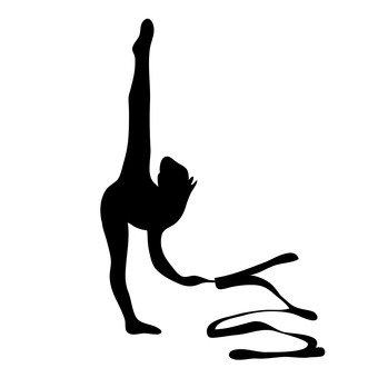 Rhythmic gymnastics ribbon