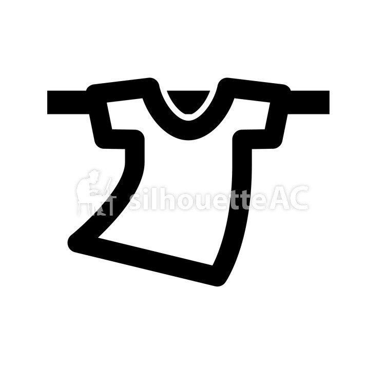 Kostenlose Silhouette Vektor : Symbol T-Shirt Niedlich Icon ...