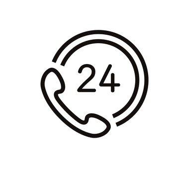 24 hour telephone correspondence