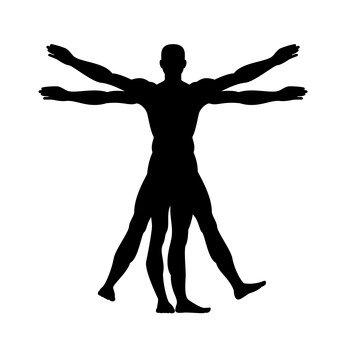 ウィトルウィウス的人體図