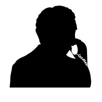 A man calling
