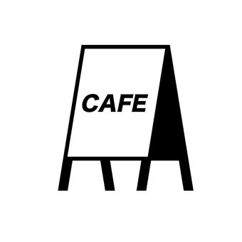 Cafe signboard