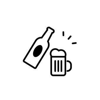 Bira ile içki partisi