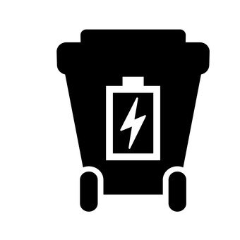 Trash bin (battery)