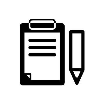 活頁夾和鉛筆