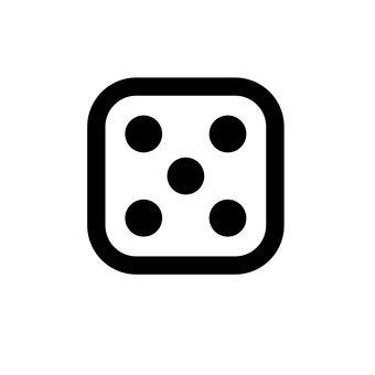 骰子(5眼)