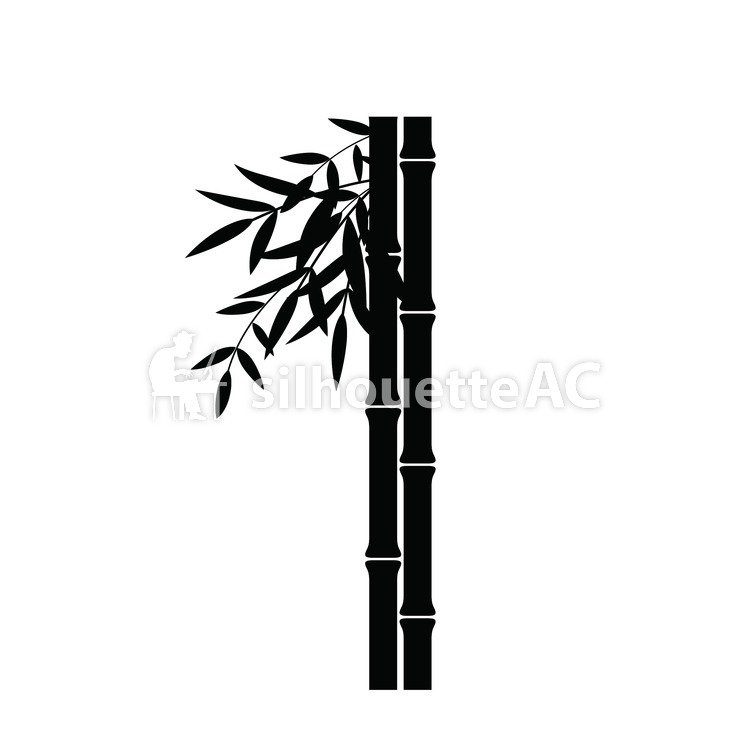 bamboo shoots free silhouette vector silhouetteac bamboo shoots free silhouette vector