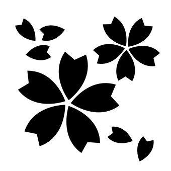 Płatki kwiatów wiśni