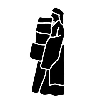 Person carrying things