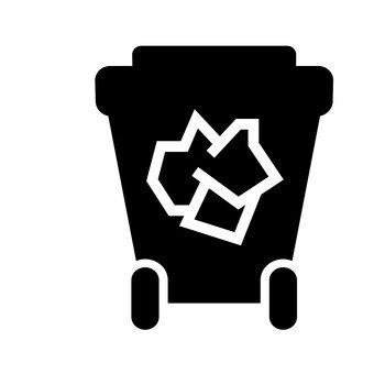 Trash bin (paper)