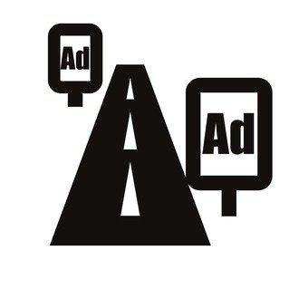 Advertisement signboard