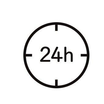 24 시간