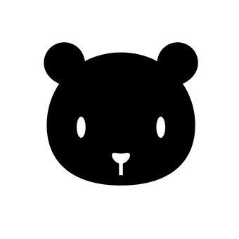الدب (أسود)