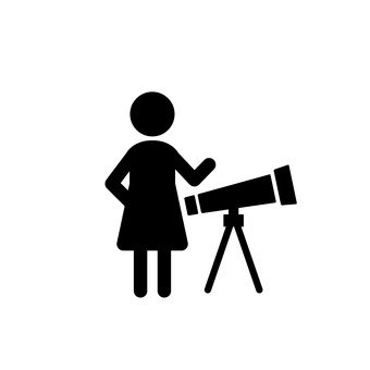 Female astronomer