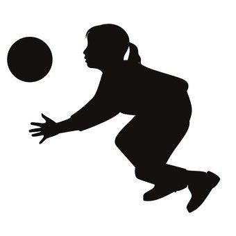 Игра в мяч